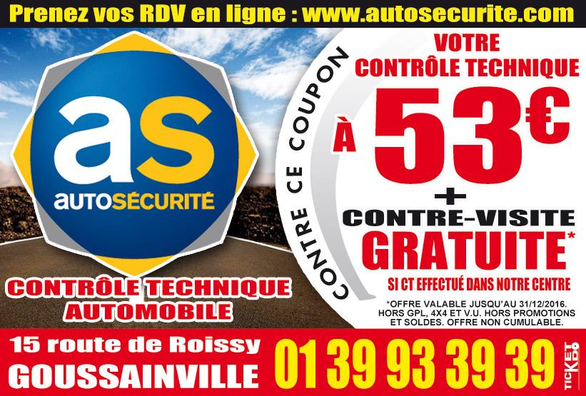 Bon de r duction autos curit goussainville 95190 bon de r duction contr le technique - Controle technique goussainville ...