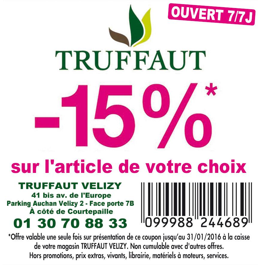 Bon De R Duction Truffaut V Lizy Villacoublay 78140 Bon